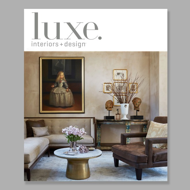 Luxe Magazine National Edition Cover