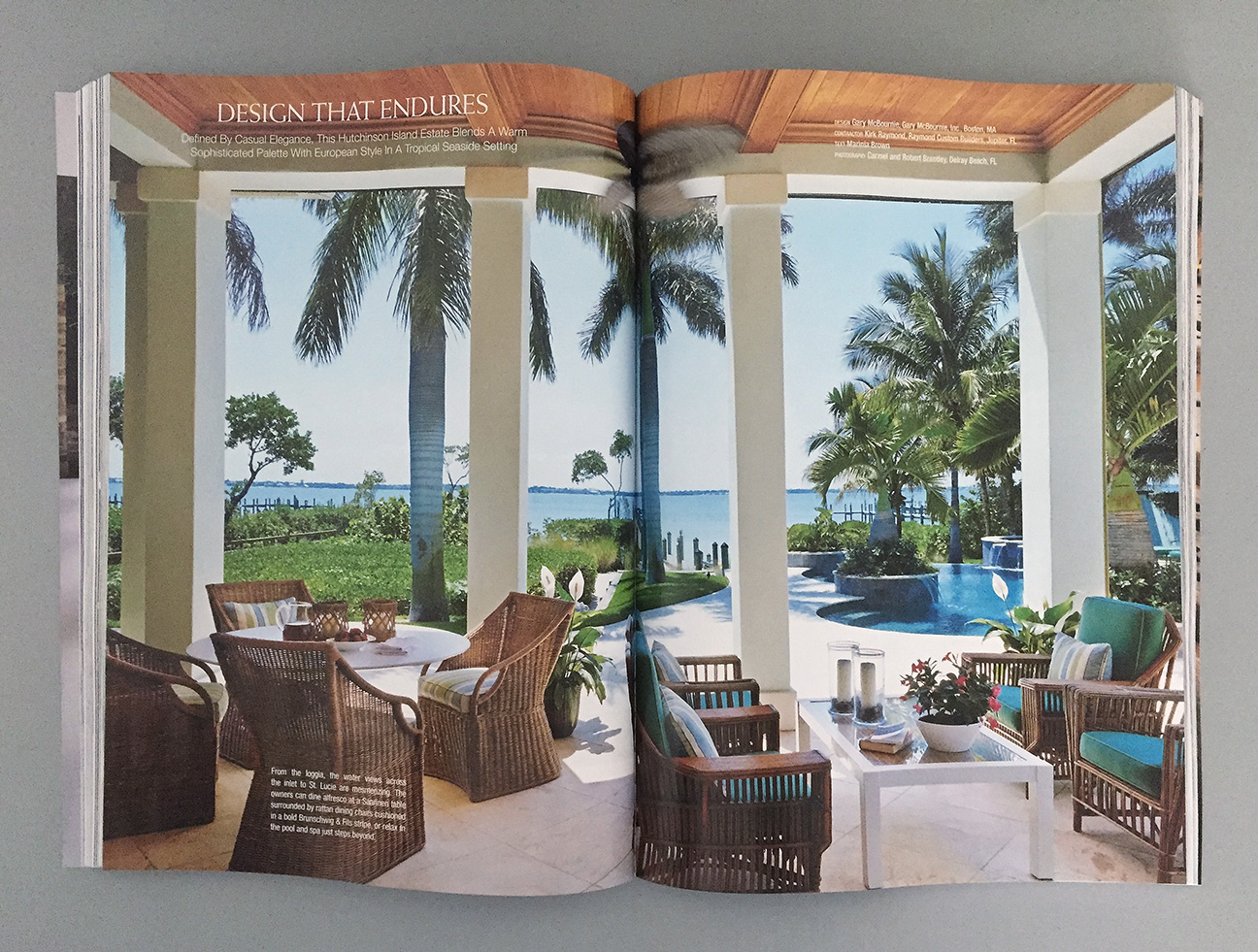 Interior Design Project Published in Florida Design - Brantley ...