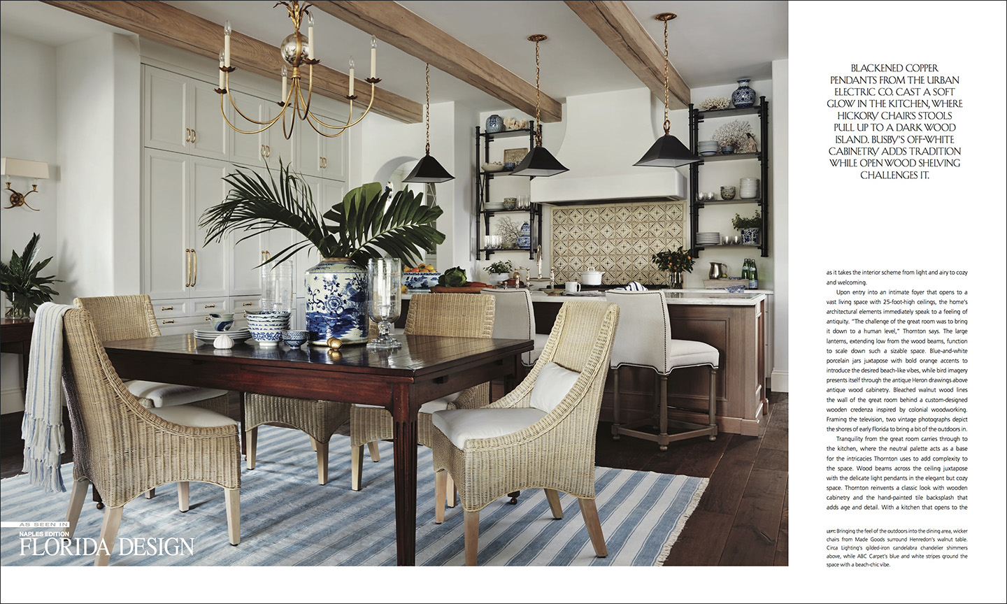 We Were Very Happy When Designer Summer Thornton Of Summer Thornton Design  In Chicago Contacted Us To Provide Naples Interior Design Photography For  Her ...