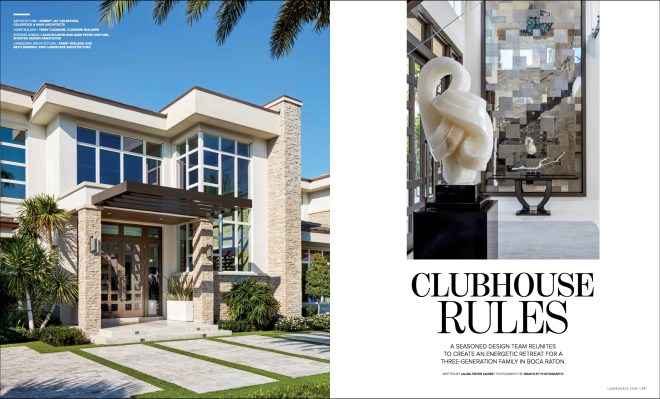 Luxe Magazine Palm Beach Edition Editorial Photography