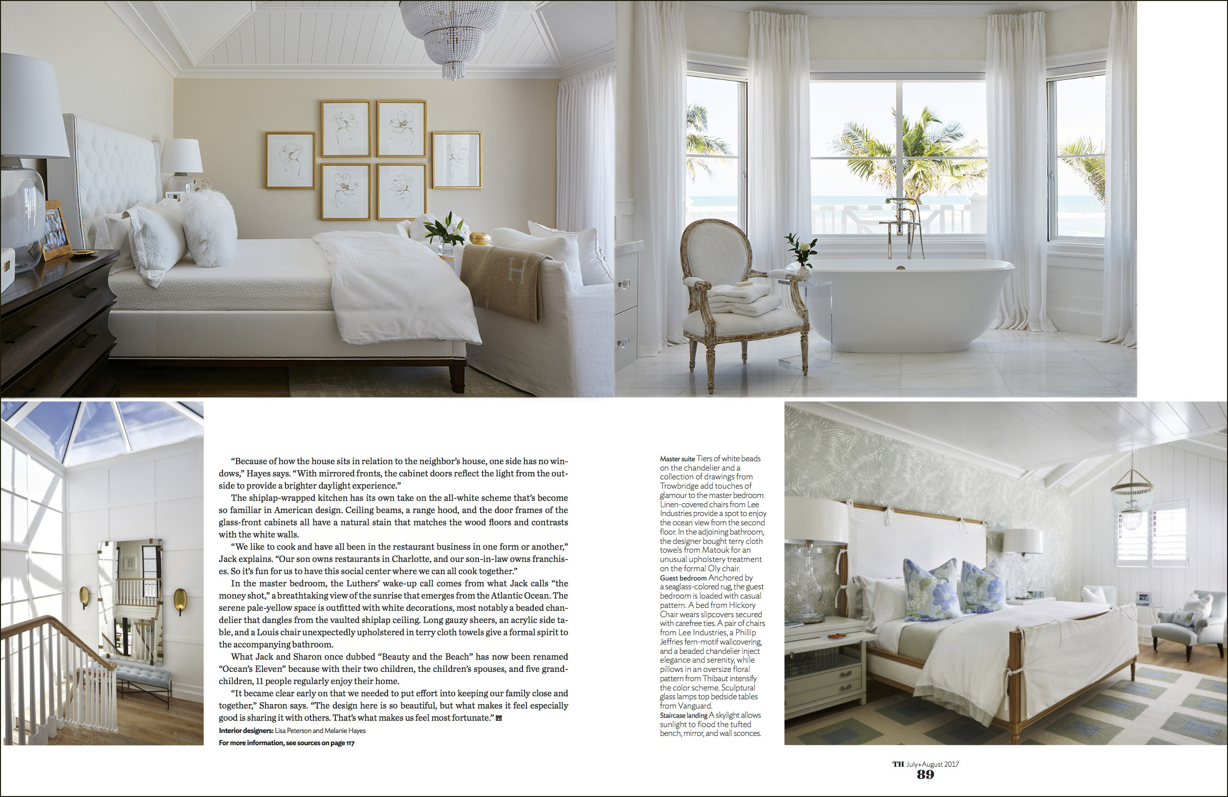Many Thanks To The Staff At Traditional Home For Making This Possible July August Issue Of Interior Design Magazine