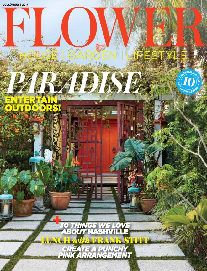 Flower Magazine Cover Photography