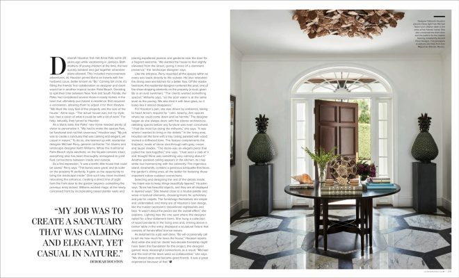 Palm Beach Home Featured in Luxe Magazine, Interior
