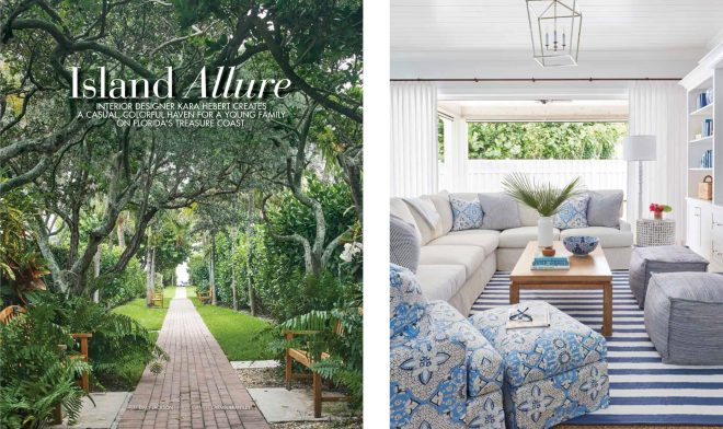 Southern Home Magazine features Kara Hebert Interiors