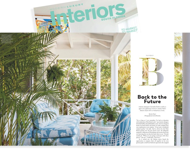 photographing with Palm Beach Interior Designer Danielle Rollins