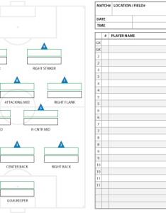 formation starters and substitutes template fillable high school soccer also formations systems as lineup sheet templates brant wojack rh brantwojack