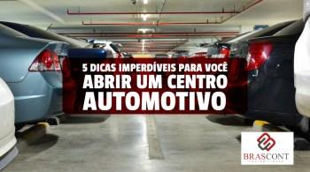 abrir um centro automotivo