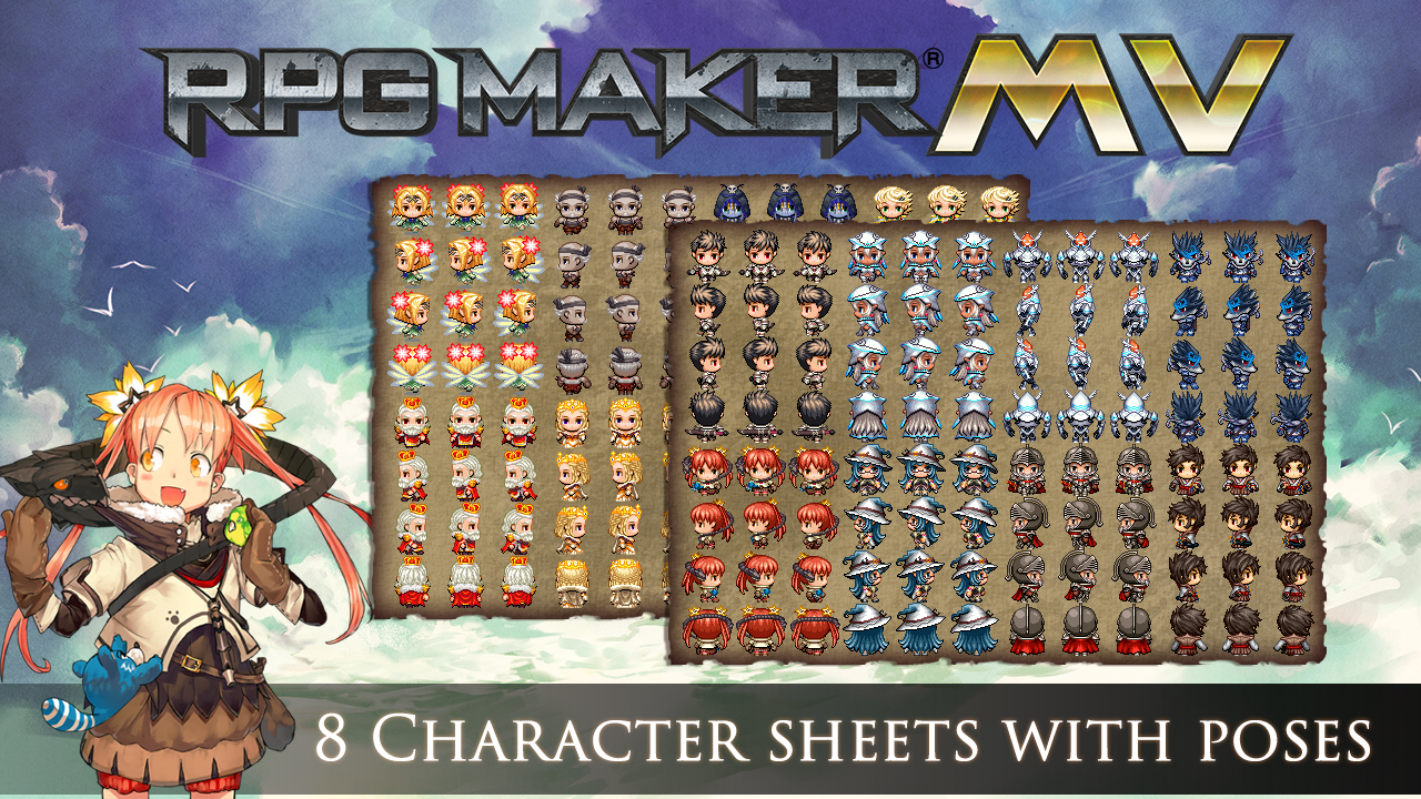 Rpg Maker Mv More Icons Beginning Rpg Maker Mv Repost Rpg