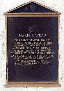 Placa do Tumulo de Marie