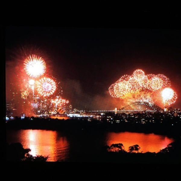 Queima de fogos em Sidney