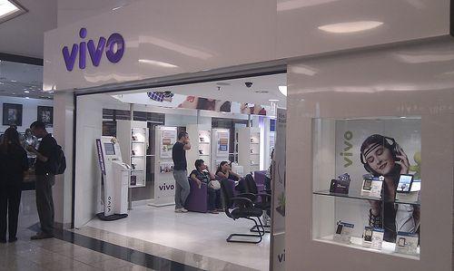 Una tienda de telefonía Vivo, propiedad de Telefónica. Foto: IT Decisions