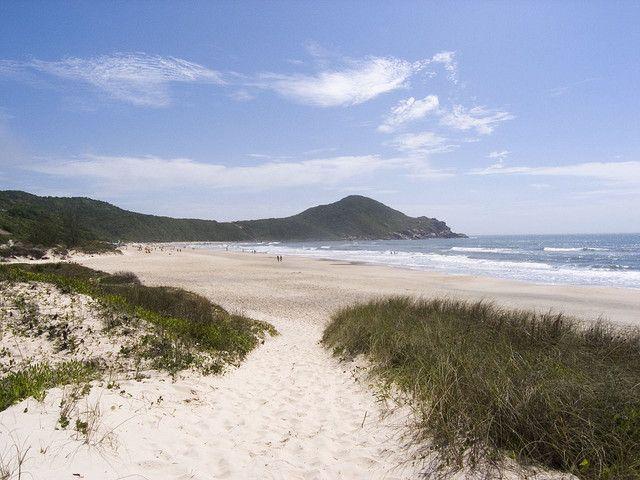 Praia Do Rosa en Santa Catarina. (Foto: Mikko Miettinen)