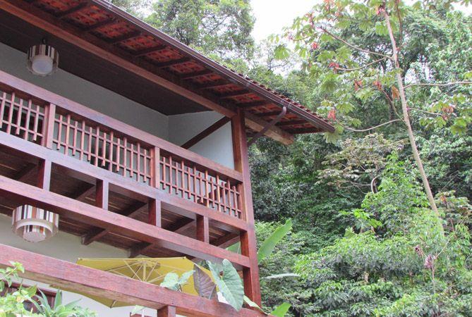 Fachada de Casa Verde en Rio de Janeiro. Foto: Virtudes Sánchez