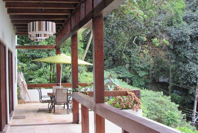 Terraza principal de Casa Verde. Foto: Virtudes Sánchez