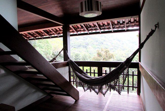Terraza de una de las habitaciones. Foto: Virtudes Sánchez