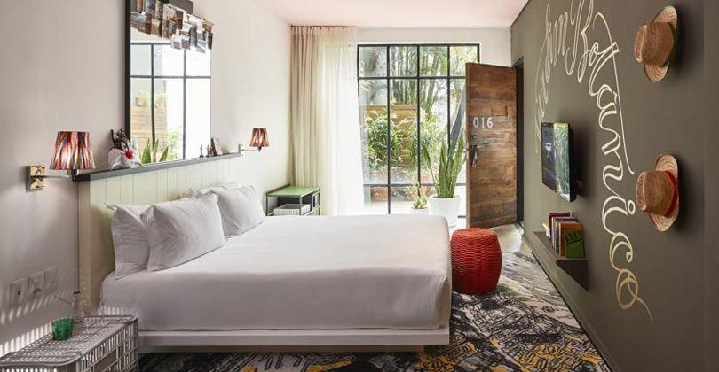 Hotel Mama Shelter, en Río de Janeiro. Foto: Booking.com