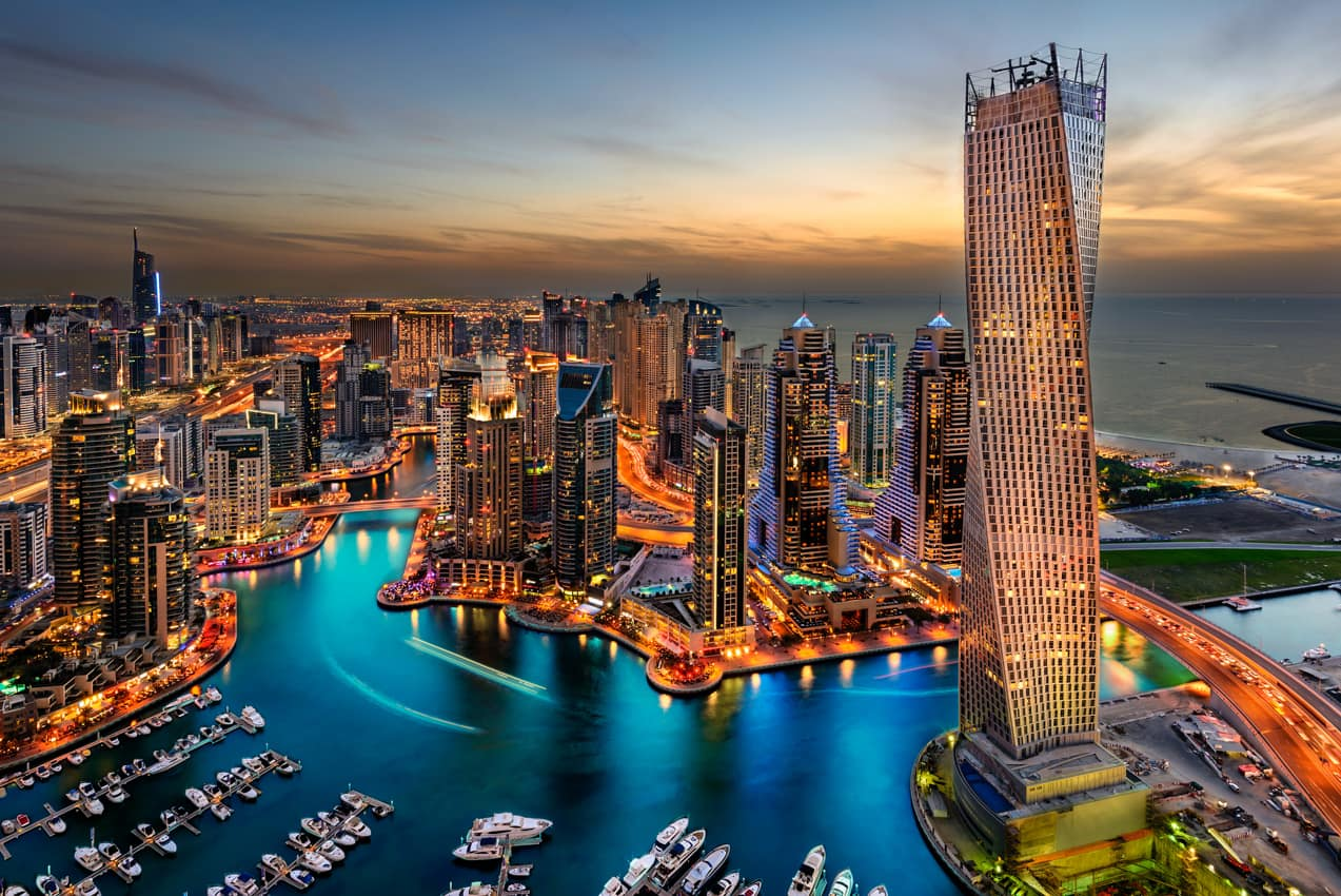 Emirates opera voos limitados com passageiros de volta a Dubai