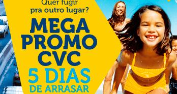 Mega Promoção na CVC com crianças grátis