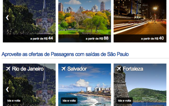 Passagens aéreas baratas promocionais no Decolar.com