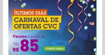 Carnaval na CVC - Pacotes Baratos