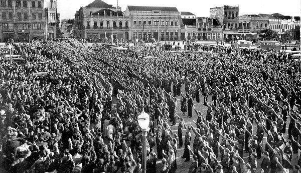 In 1937 the largest Nazi rally ever held in the Western Hemisphere, in Sergio Moro's hometown of Curitiba