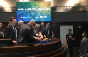 Ecorodovias vence leilão por BR-364/365 com deságio de 33%; ação sobe 3%