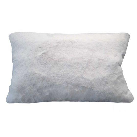 faux fur decorative pillow by evelyn prelonge