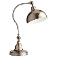 Pewter Desk Lamp