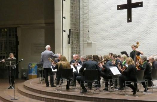 Els De Cauwer, dwarsfluit tijdens het concert voor Anna3, november 2017