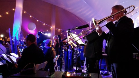 Live band for corporate event