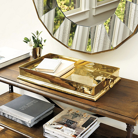 brass tray ballard
