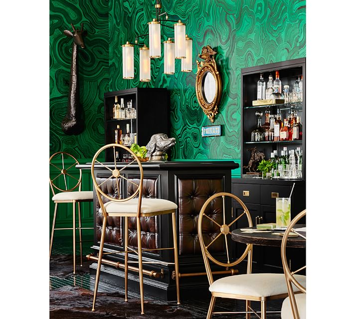 Mad for Malachite-Inspired Home Decor