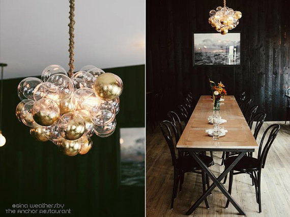 cloud bubble chandelier - Bubble Chandelier