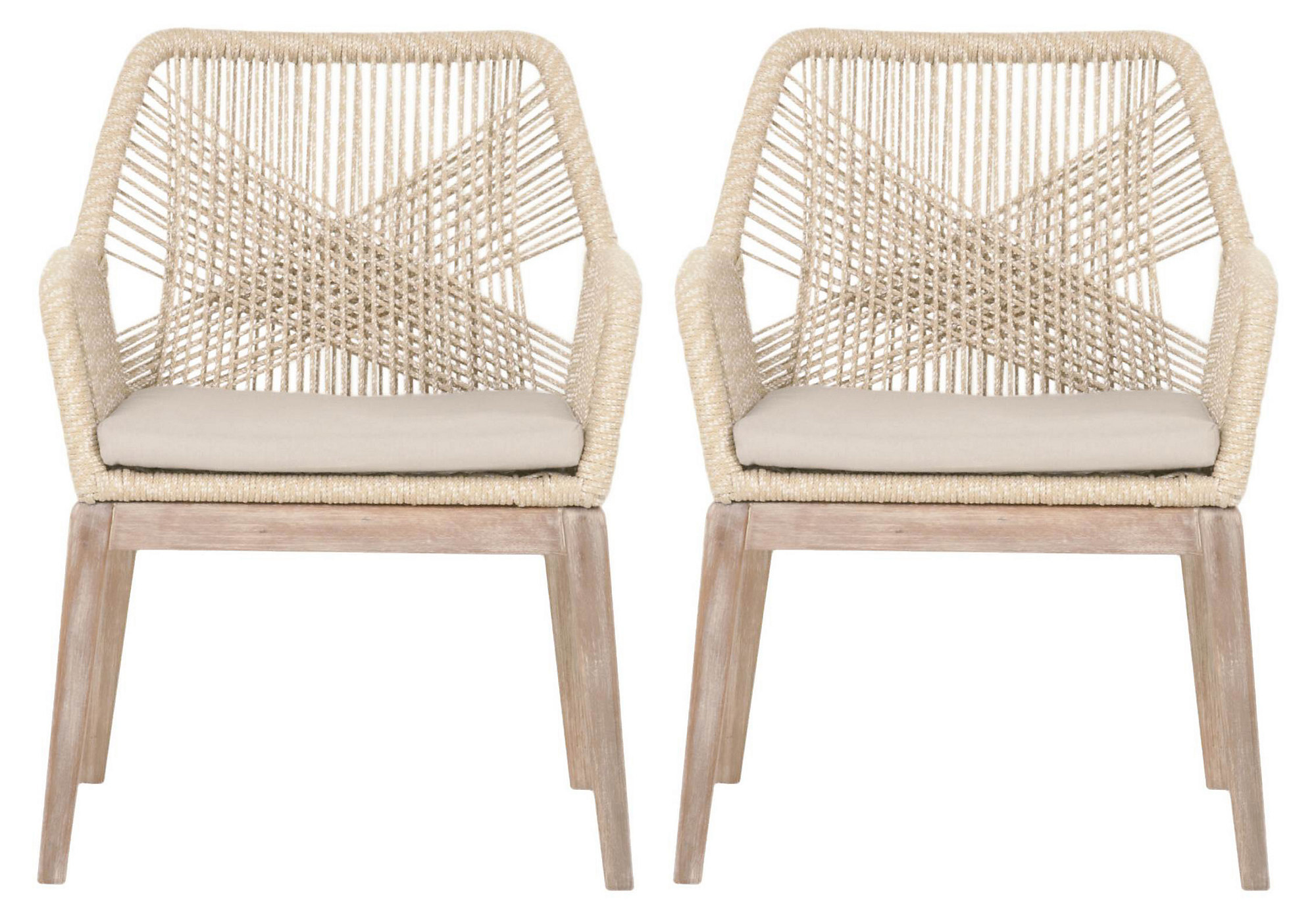 Orient Express Loom Chairs