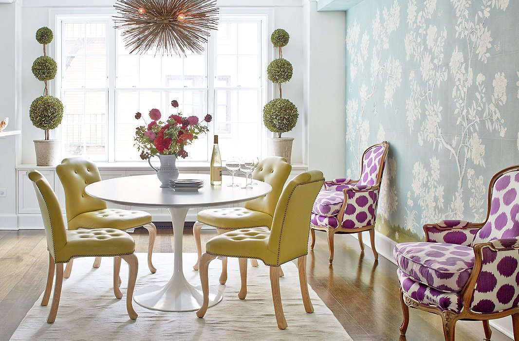 Colorful, Kid-Friendly Chinoiserie
