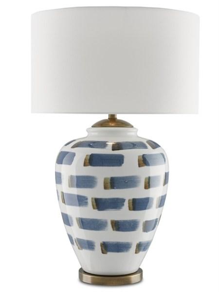 Currey & Co's Brushstroke Lamp