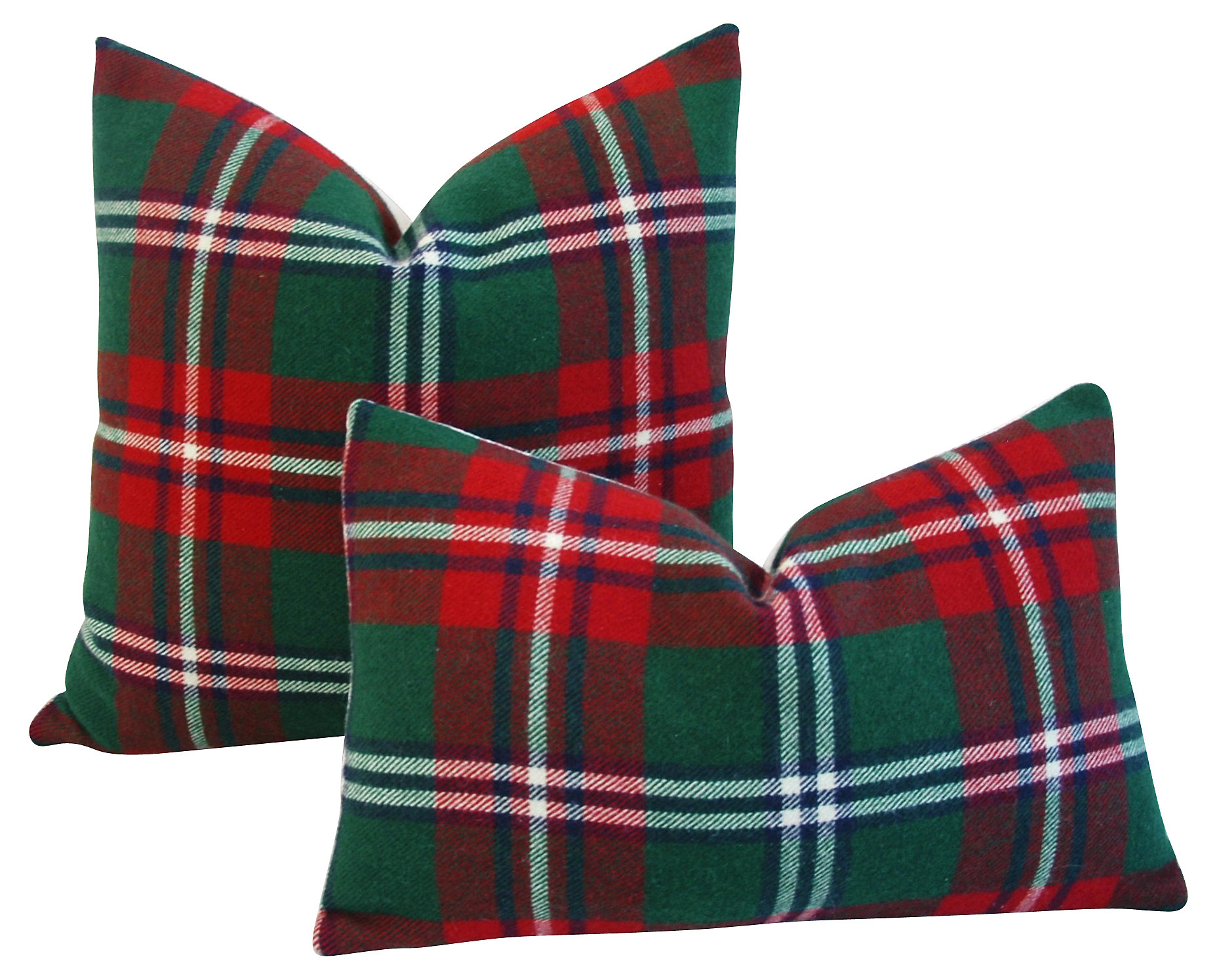 Scottish Tartan Pillows via Mike Seratt