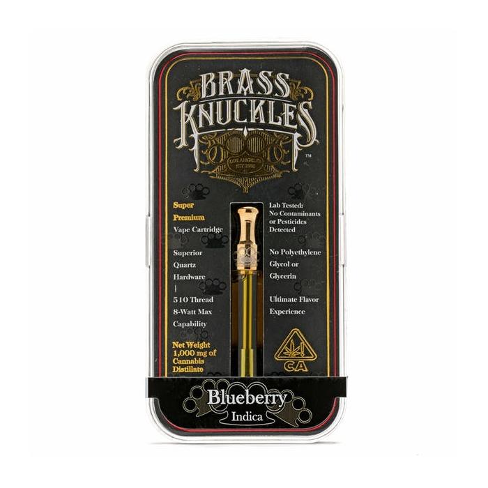 Indica Cartridges  Brass Knuckles OG