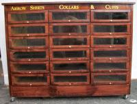 Country Store Display Cases Archive, BRASS LANTERN ANTIQUES