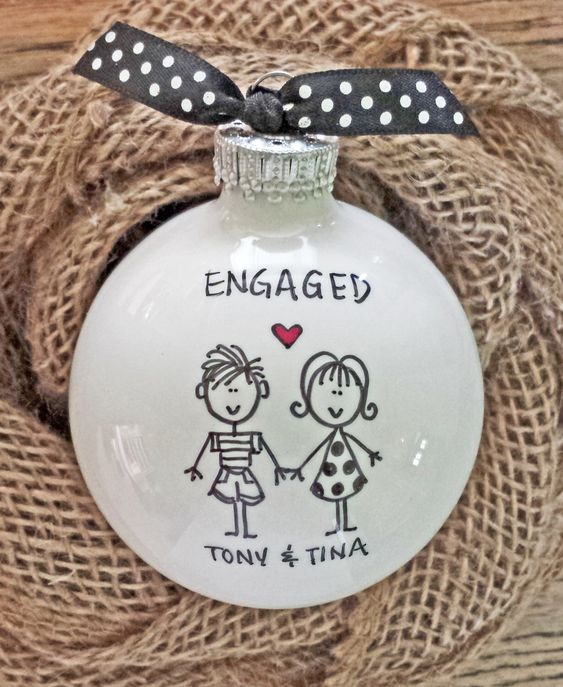 25 Beautiful Christmas Engagement Ornaments BrassLook