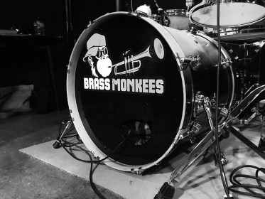 Brass Monkees Bass Drum