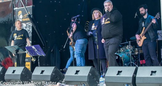 Brass Monkees Nantwich Jazz Festival 2018 On Stage 1