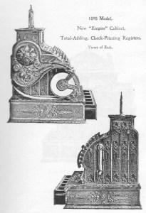 Original Cash Register Catalogues ~ Antique Brass Cash