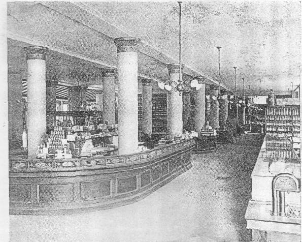 GENERAL VIEW S. S. PIERCE CO'S STORE, BOSTON MASS.