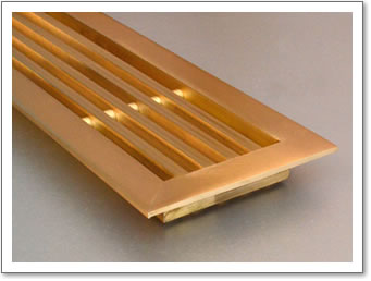 Brass Frames and Linear Grilles
