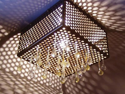 BrassCopper Perforated Mesh with Stable Structure