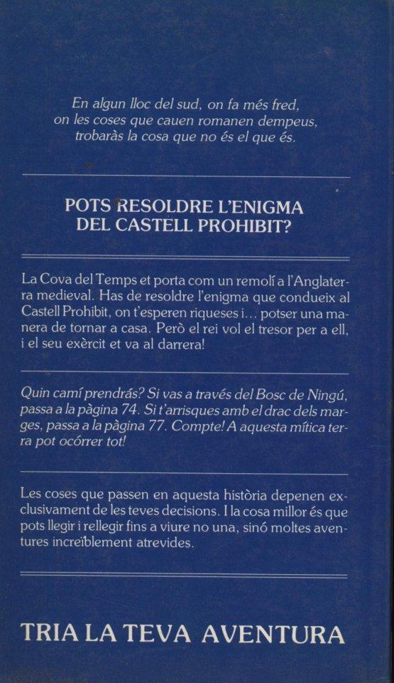 Venda online de llibres d'ocasió com El castell prohibit - Edward Packard - Paul Granger a bratac.cat