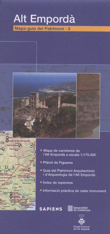 Venda online de Mapa-guia del patrimoni: Alt Empordà d'ocasió a bratac.cat