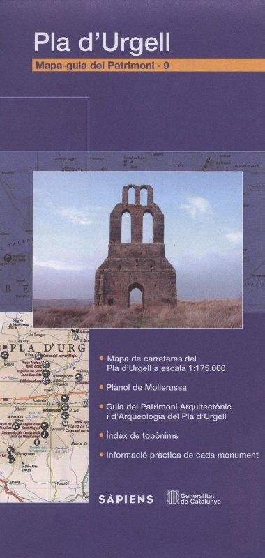 Venda online de Mapa-Guia del patrimoni: Pla d'Urgell d'ocasió a bratac.cat