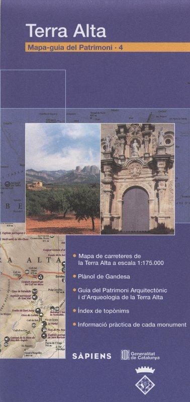 Venda online de Mapa-Guia del patrimoni: Terra Alta d'ocasió a bratac.cat